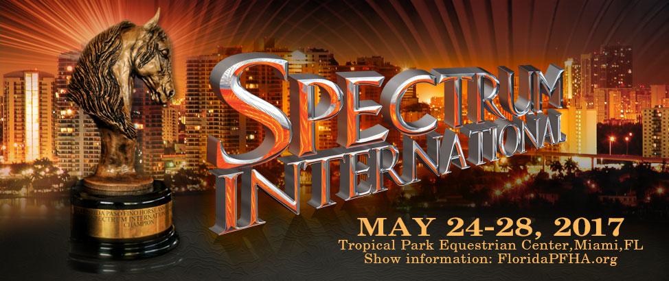 Spectrum International Paso Fino Horse Show