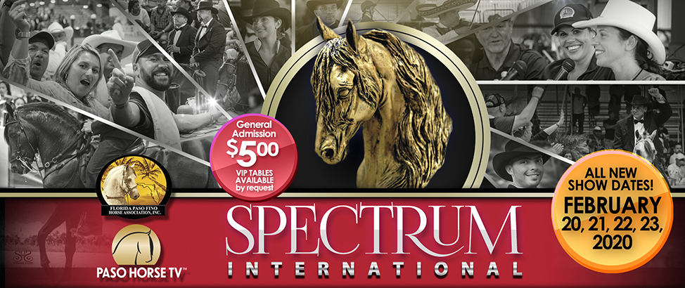 Spectrum International Paso Fino Horse Show